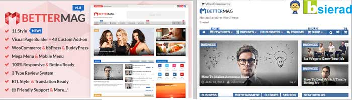 Download Better Mag WordPress Templete